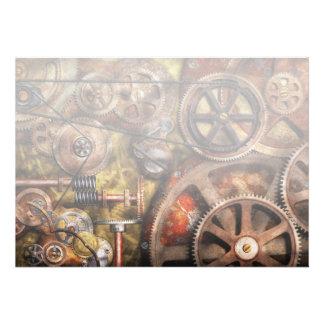 Steampunk - Gears - Inner Workings Custom Announcement