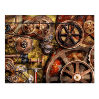 Steampunk - Gears - Inner Workings Post Cards