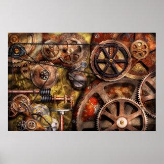 Steampunk - Gears - Inner Workings Poster
