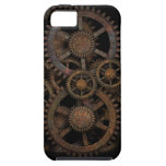 Steampunk gears iPhone 5 cover