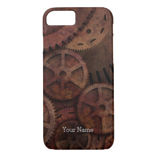 Steampunk Gears iPhone 7 Case