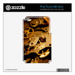 Steampunk Gears iPod Touch 4G Decal