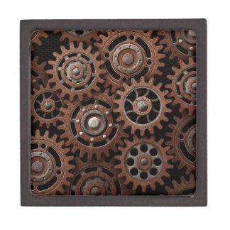 Steampunk Gears Jewelry Box