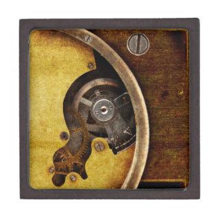 Steampunk gears keepsake box