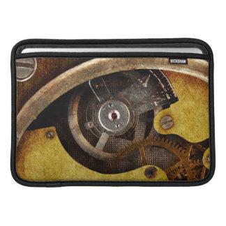 Steampunk gears MacBook sleeve