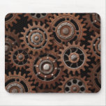 Steampunk Gears Mouse Pad