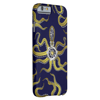 Steampunk Gears Octopus Kraken Barely There iPhone 6 Case