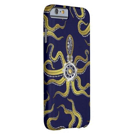 Steampunk Gears Octopus Kraken iPhone 6 Case