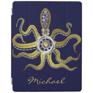 Steampunk Gears Octopus Kraken iPad Cover