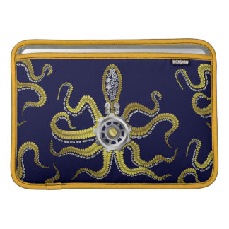 Steampunk Gears Octopus Kraken MacBook Air Sleeve
