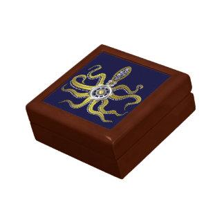 Steampunk Gears Octopus Kraken Keepsake Box