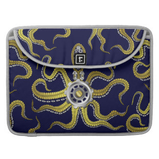Steampunk Gears Octopus Kraken MacBook Pro Sleeve
