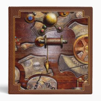 Steampunk - Gears - Reverse engineering Binder