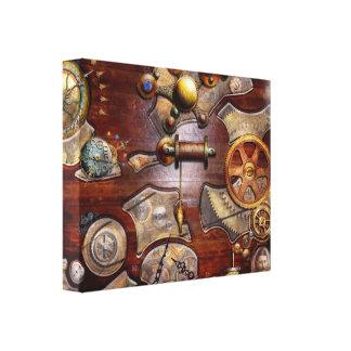 Steampunk - Gears - Reverse engineering Canvas Print