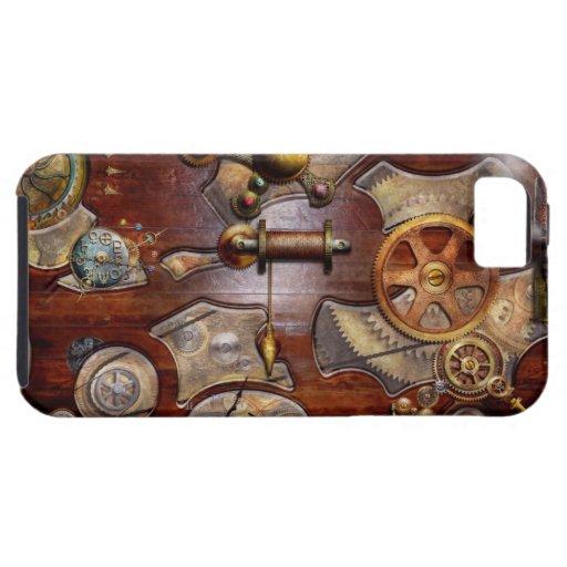 Steampunk - Gears - Reverse engineering iPhone 5 Case