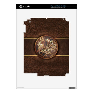 steampunk gears skins for iPad 2