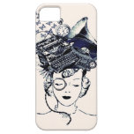Steampunk Girl iPhone 5 Cases