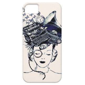 Steampunk Girl iPhone SE/5/5s Case