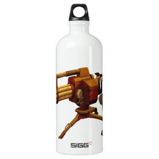 Steampunk Girl with Gun SIGG Traveler 1.0L Water Bottle