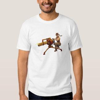 Steampunk Girl with Gun T Shirts