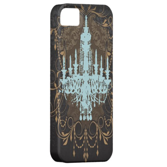 steampunk goth butterfly paris vintage chandelier iPhone SE/5/5s case