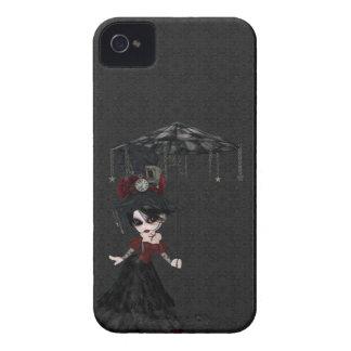 Steampunk Goth Girl iPhone 4 Case