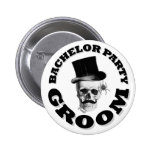 Steampunk Gothic bachelor party Pin