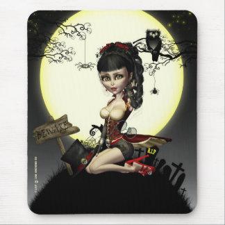 Steampunk gótico Lolita Mousepad Mousemat
