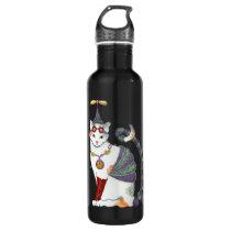 Steampunk Gretel Kitty Stainless Steel Water Bottle