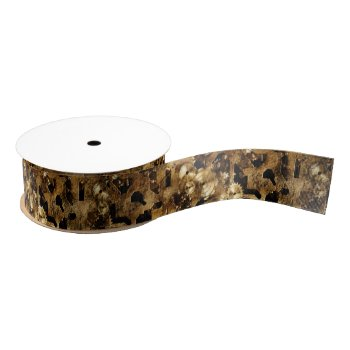 Steampunk Grosgrain Ribbon