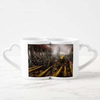 STEAMPUNK - Guerra - estamos listos Set De Tazas De Café