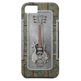 Steampunk Guitar iPhone 5 Cover
