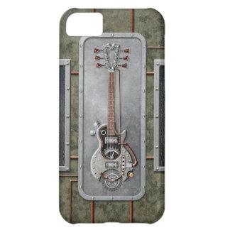 Steampunk Guitar iPhone 5C Cases