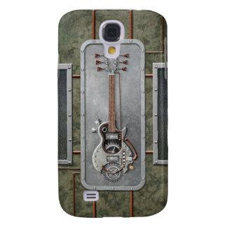 Steampunk Guitar Galaxy S4 Cover