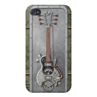 Steampunk Guitar iPhone 4/4S Covers
