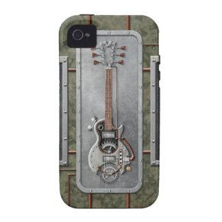 Steampunk Guitar iPhone 4 Case