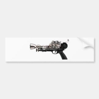 Steampunk Gun Bumper Sticker