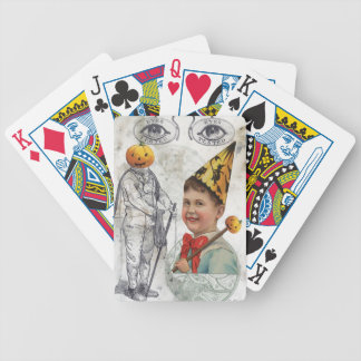 Steampunk Halloween Jack O Latern Diver Bicycle Playing Cards