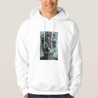 Steampunk head sweatshirt