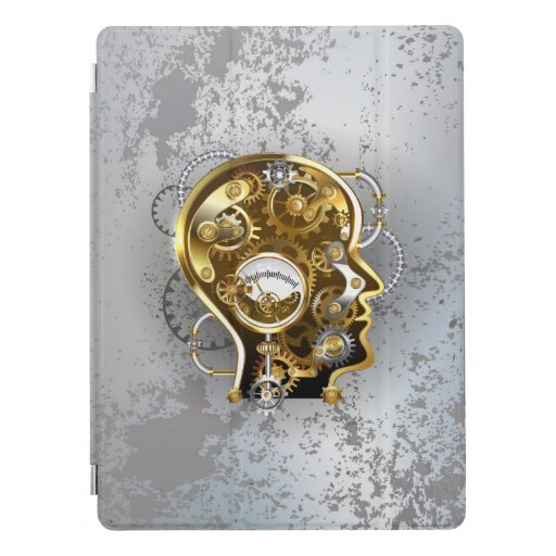 Steampunk Head with Manometer iPad Pro Cover