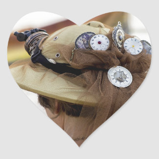 Steampunk Heart Sticker