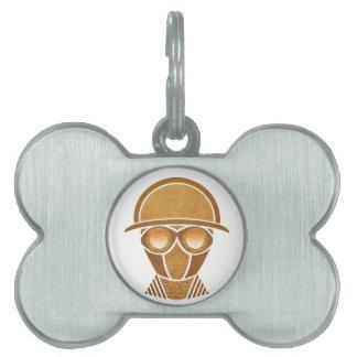 Steampunk Helmet & Mask Pet Tags