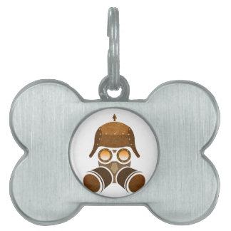 Steampunk Helmet Pet ID Tag