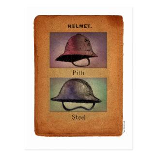 Steampunk Helmets Postcard
