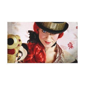 Steampunk Heroine Canvas Print