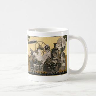 Steampunk Heroine Classic White Coffee Mug