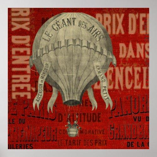 Steampunk Hot Air Ballon Ride Graphic Fonts