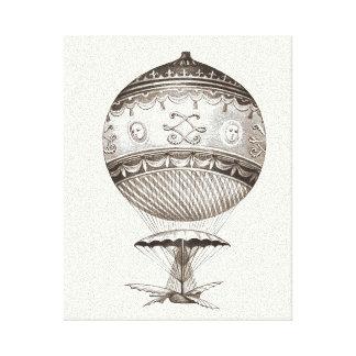Steampunk Hot Air Balloon Canvas Print
