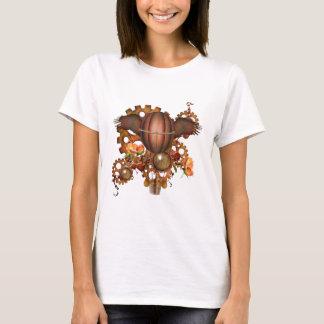 Steampunk Hot Air Balloon T-Shirt