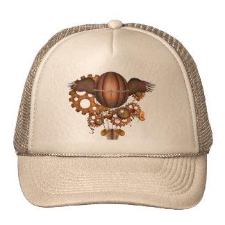 Steampunk Hot Air Balloon Trucker Hat